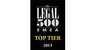 Legal 500 EMEA Leading Law Firm
